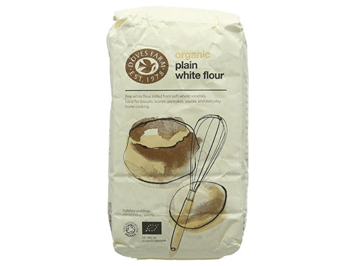 Doves Farm Plain White Flour - Organic - 1kg