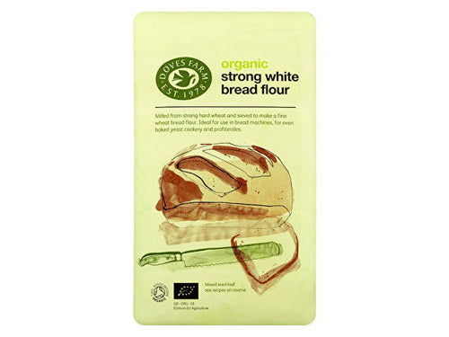 Doves Farm Strong Unbleached White Flour - Organic - 1.5kg