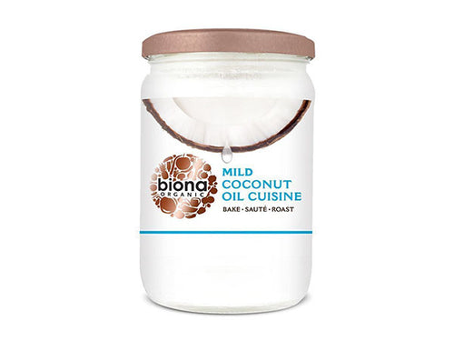 Biona Coconut Oil Cuisine - Mild & Odourless - 610ml