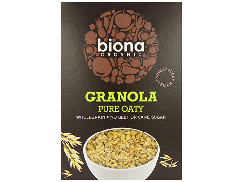 Biona Pure Oaty Granola - No Added Sugar - 375g