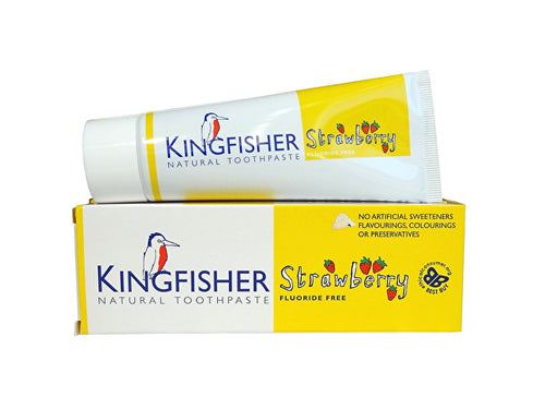 Kingfisher Childrens Strawberry Toothpaste - 75ml