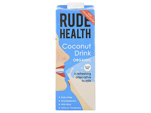 Rude Health Organic Coconut Drink - 1Ltr