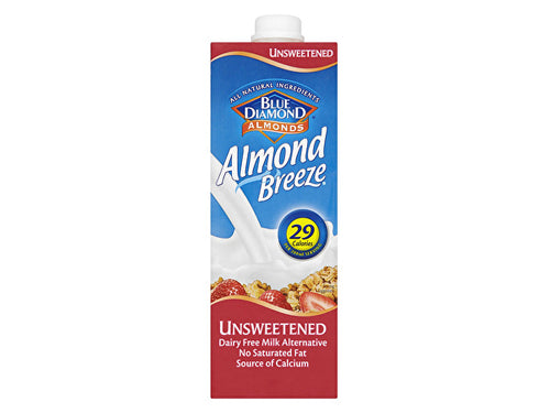 Almond Breeze Almond Breeze Unsweetened Drink - 1Ltr x 8