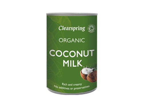 Clearspring Organic Coconut Milk - 400ml x 6