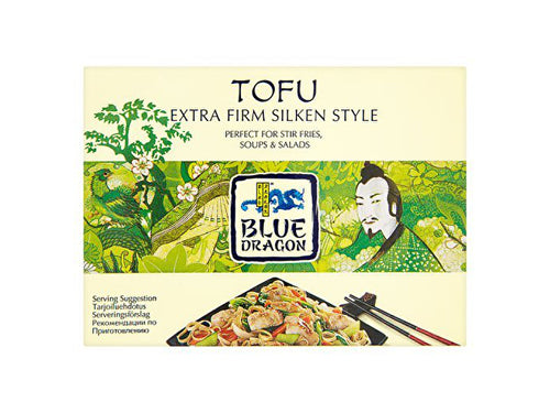 Blue Dragon Firm Silken Style Tofu - 349g