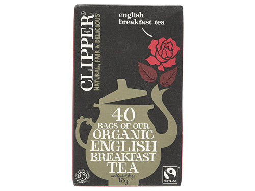 Clipper English Breakfast Tea - 40 Bags