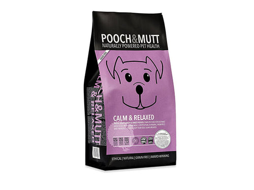 Pooch & Mutt Calm & Relaxed Grain Free Complete Dog Food - 2kg