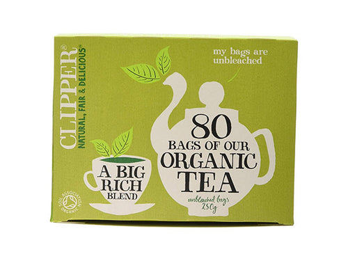 Clipper Organic Tea Blend - 80 Bags