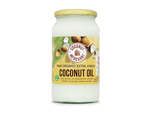 Coconut Merchant Raw Organic Extra Virgin Coconut Oil - 1Ltr