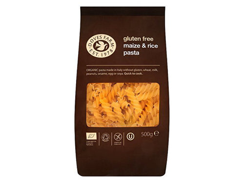Doves Farm Freee Gluten Free Maize & Rice Fusilli Pasta - 500g