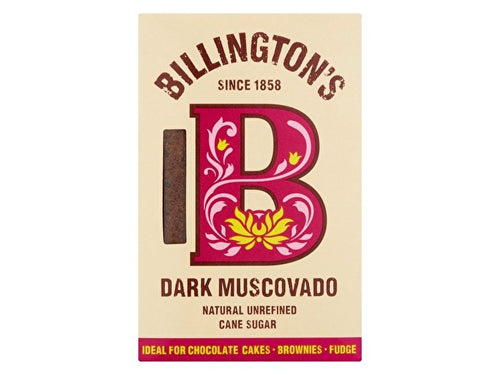 Billingtons Dark Muscovado Sugar - 500g