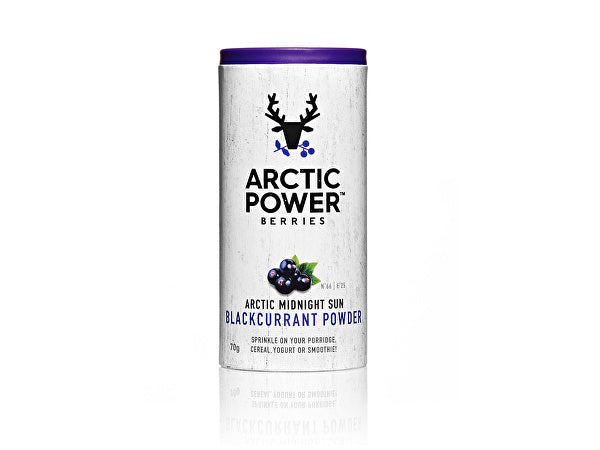 Arctic Power 100% Pure Blackcurrant Powder - 70g