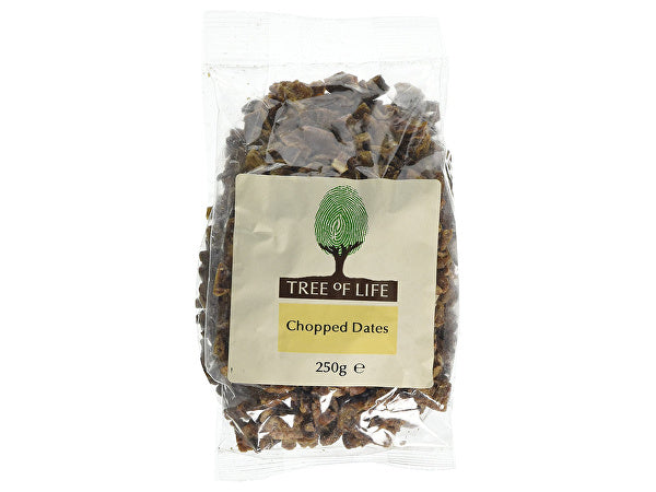 Tree Of Life Chopped Dates - 250g x 6