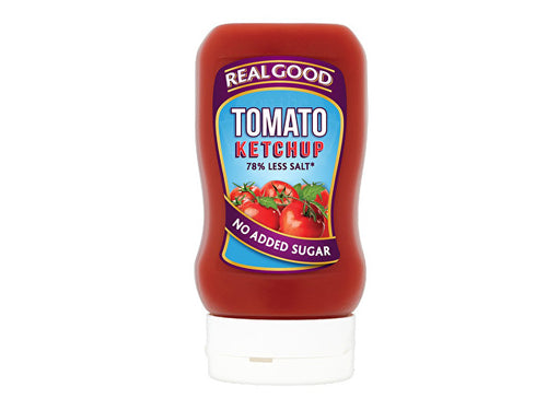 Real Good Tomato Ketchup - No Added Sugar - 315g