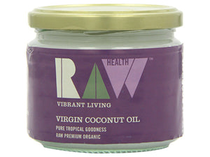Raw Vibrant Living Raw Coconut Oil - 275ml