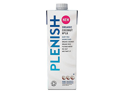 Plenish Organic Coconut M*lk - 1Ltr x 8