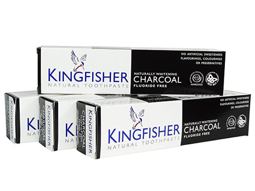 Kingfisher Charcoal Naturally Whitening Toothpaste - 100ml