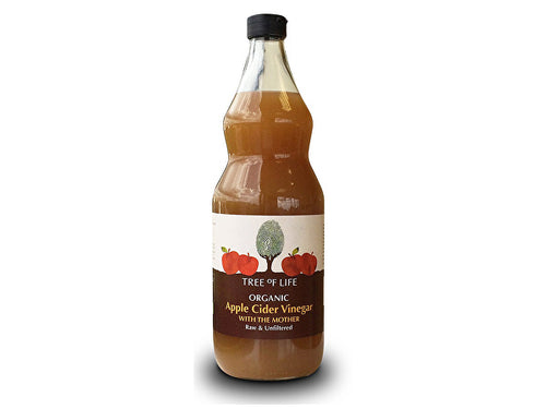Tree Of Life Organic Apple Cider Vinegar With The Mother - 1Ltr