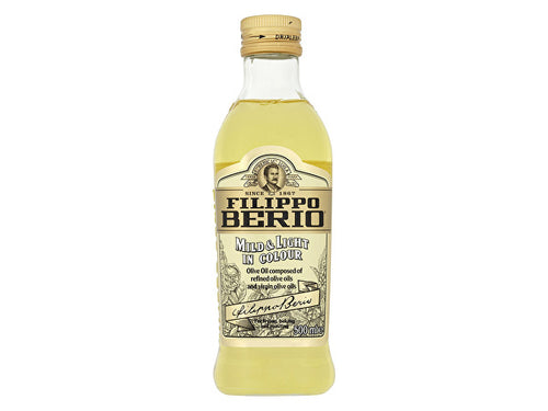 Filippo Berio Mild & Light Olive Oil - 500ml