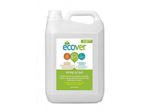Ecover Washing Up Liquid - Lemon & Aloe - 5Ltr