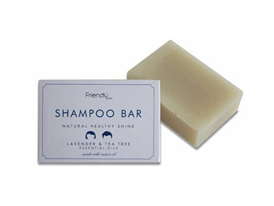 Friendly Soap Natural Shampoo Bar - Lavender & Tea Tree - 95g x 6