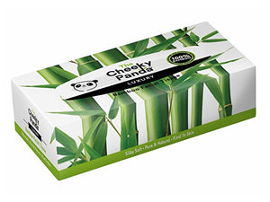 The Cheeky Panda Sustainable Bamboo Facial Tissues - Box - Single