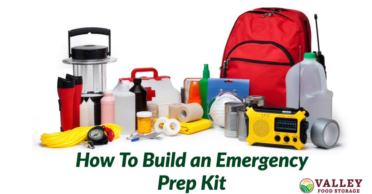 how to build an emergency prep kit