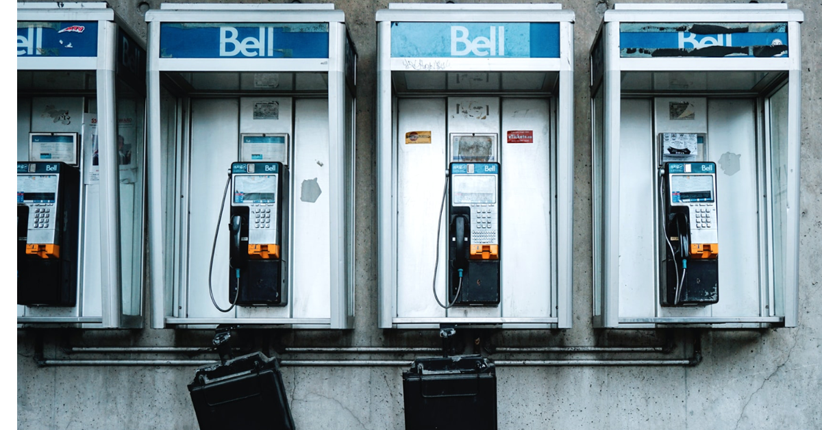 payphones for family emergency plan