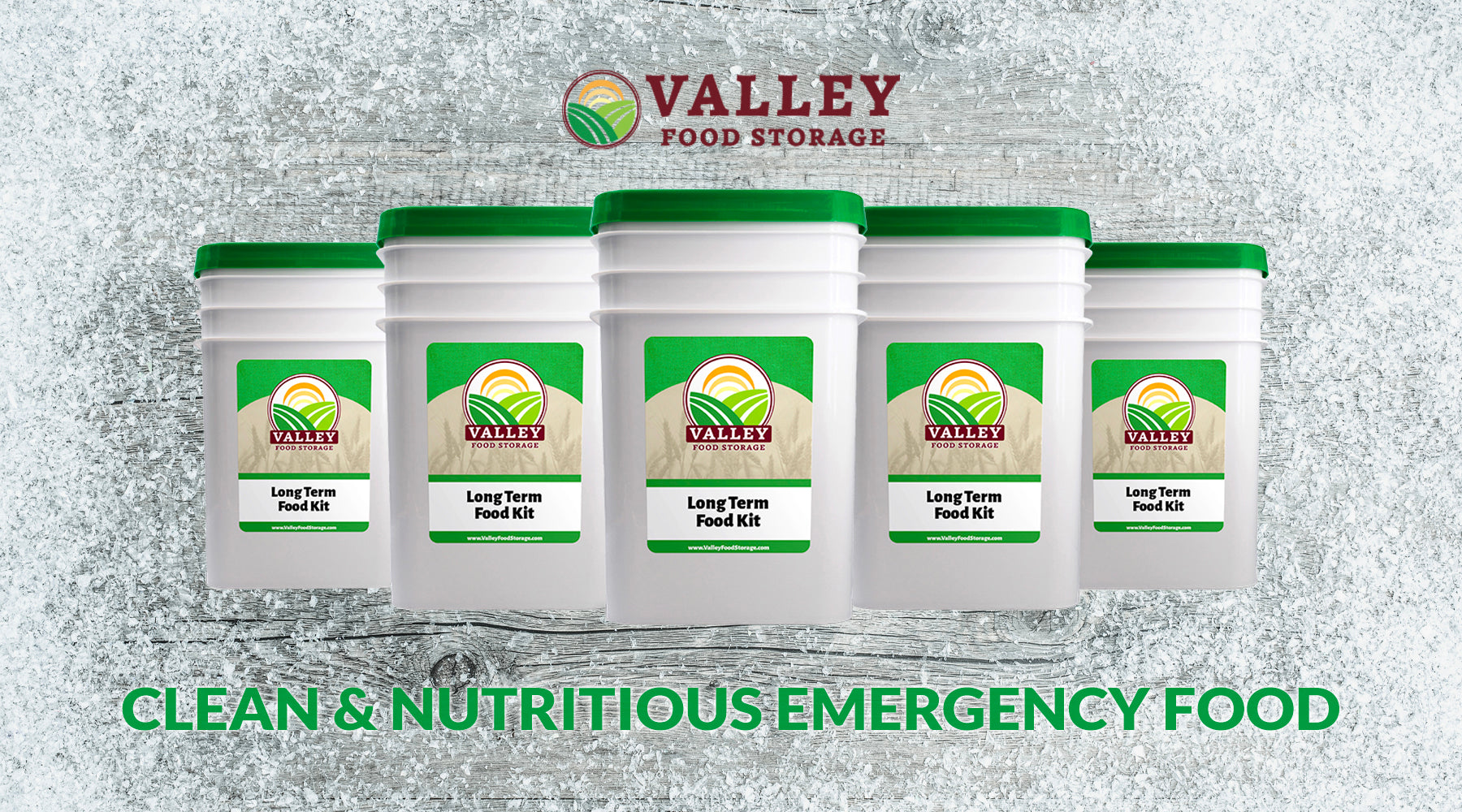 valley food storage clean and nutritious emergency food