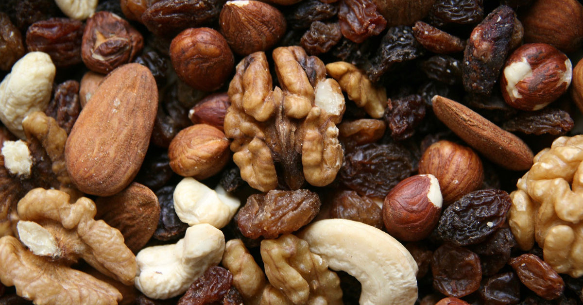 trail mix healthy survival food