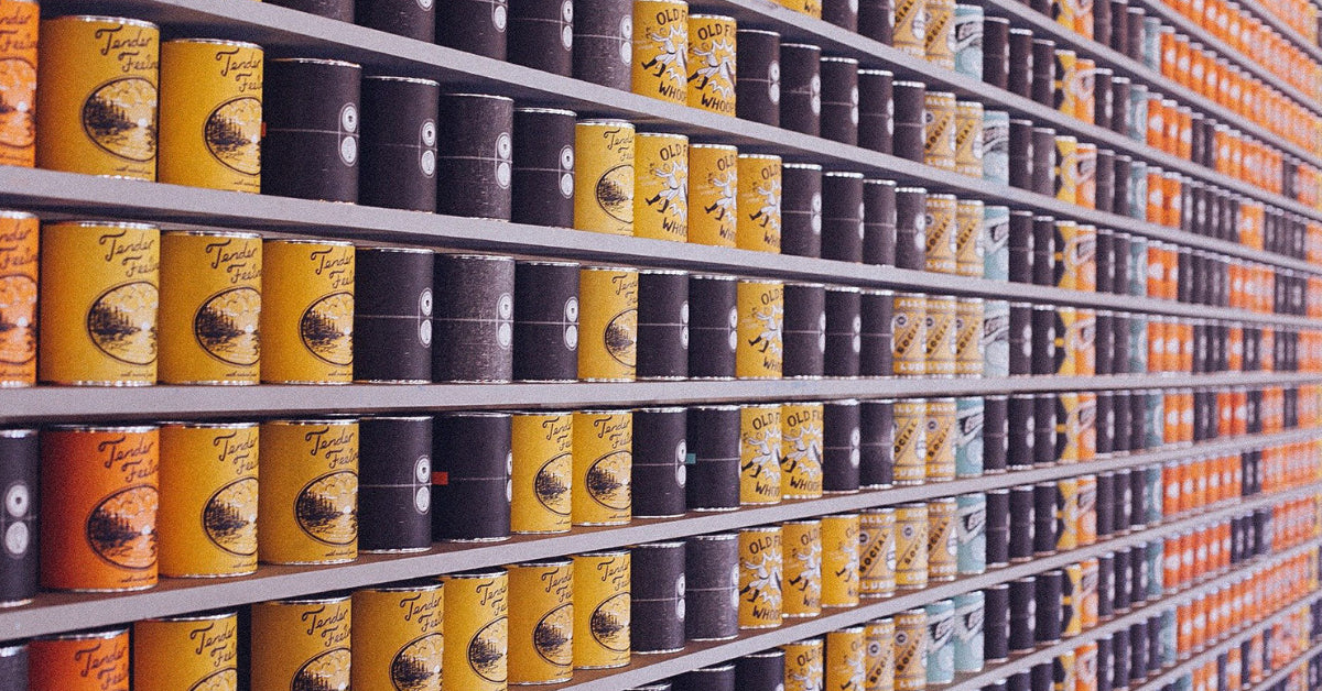 canned goods as a heathy survival food