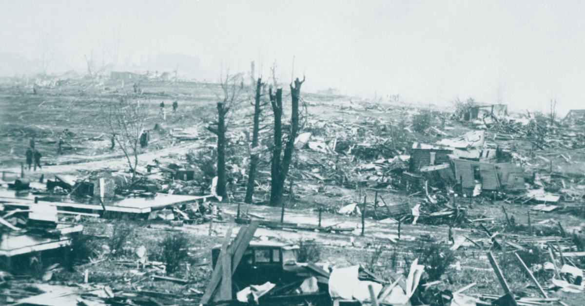 worst tornadoes in us history gainesville