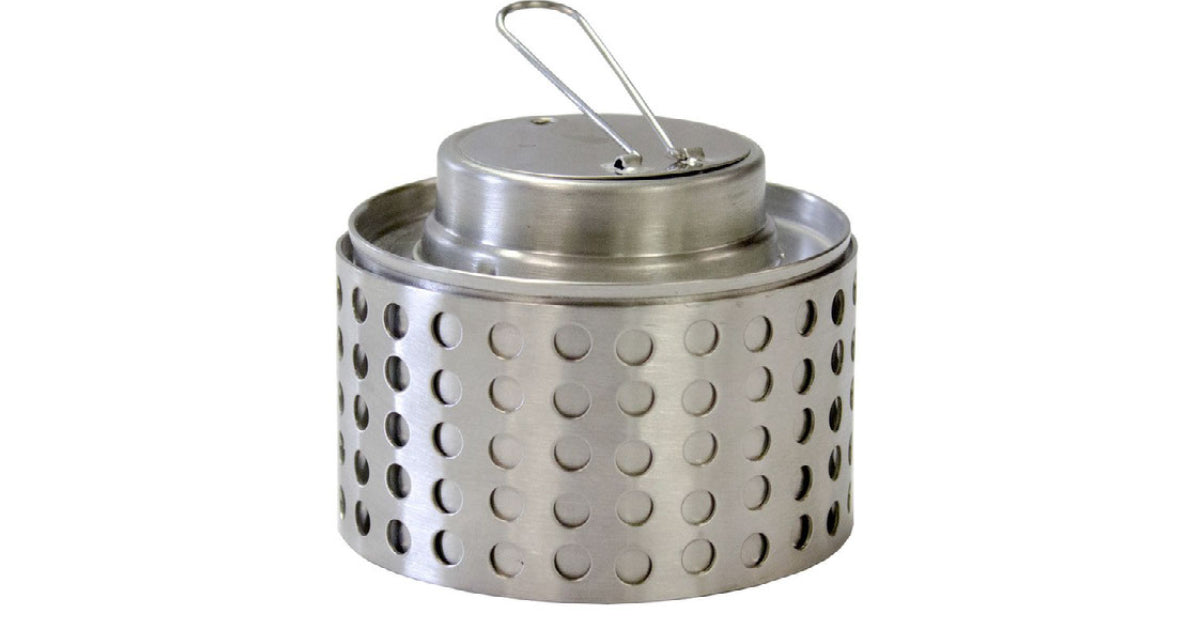 alcohol stove outside cooking