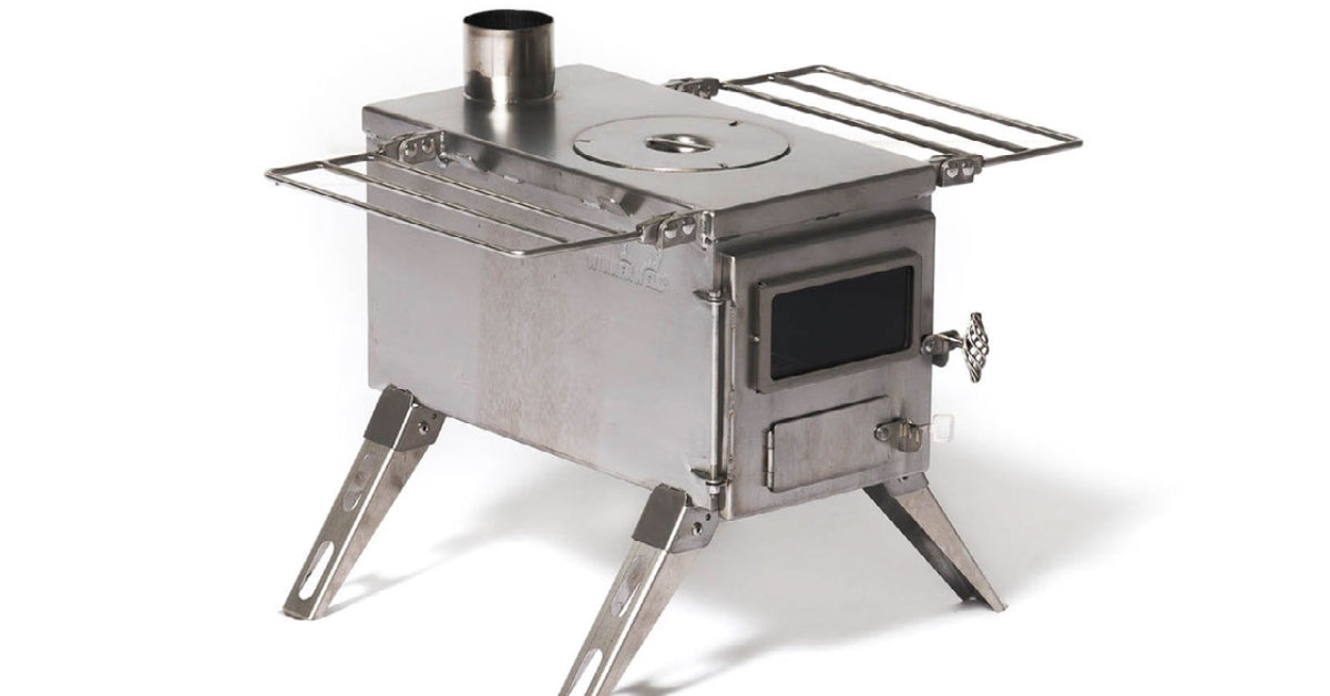 wood stove for outdoor cooking