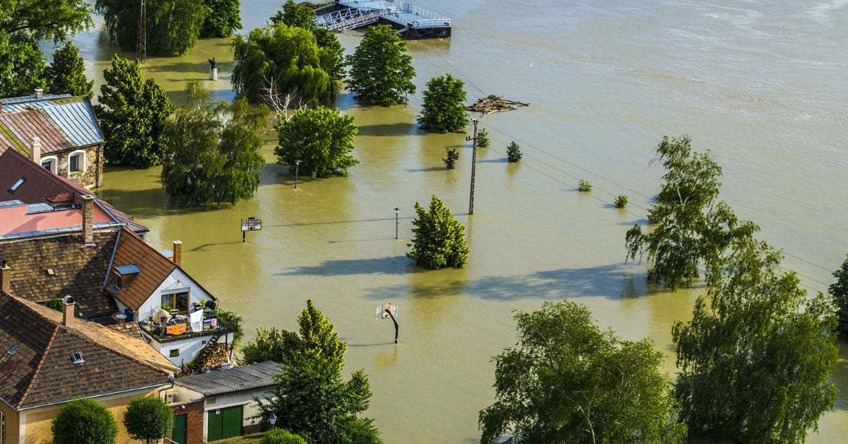 town flooded