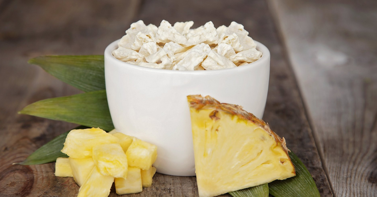 freeze dried pineapple valley food storage