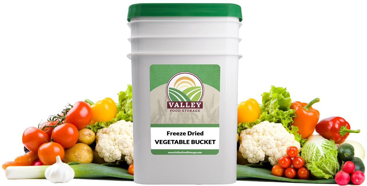 valley food storage freeze dried vegetables