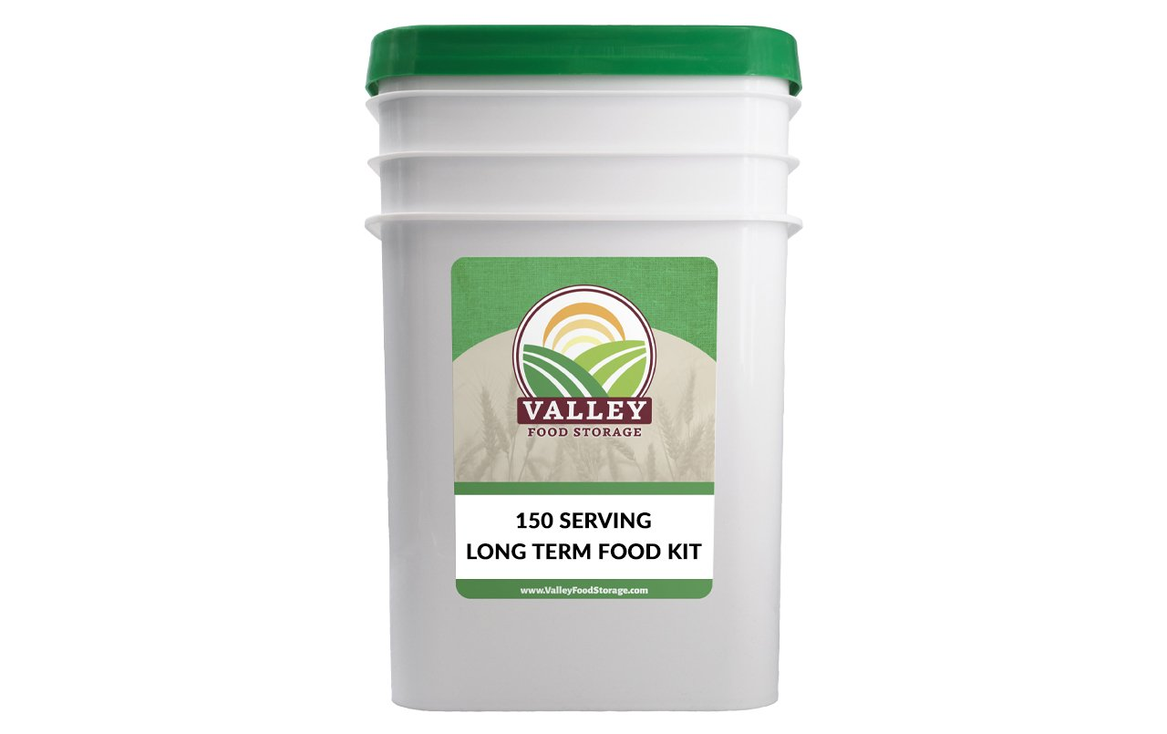 Long Term Food Kit (150 Servings) Valley Food Storage