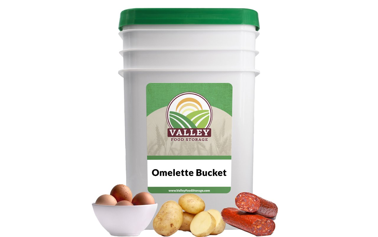Omelette Bucket Valley Food Storage