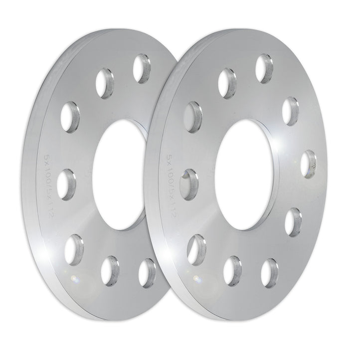 Set of Two (2) 10mm Press-On Wheel Spacers (5x100/5x112)