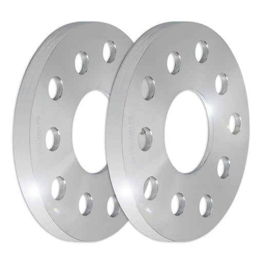 Set of Two (2) 15mm Press-On Wheel Spacers (5x100/5x112)