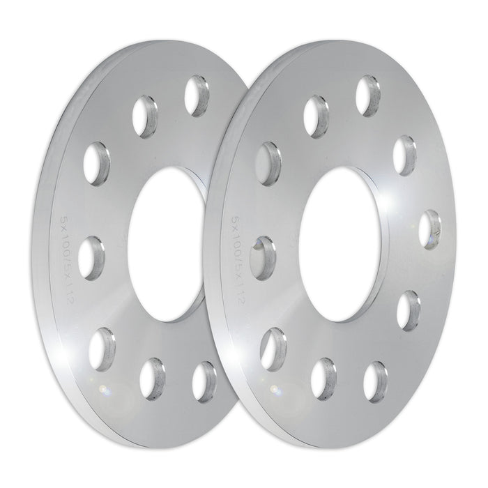 Set of Two (2) 8mm Press-On Wheel Spacers (5x100/5x112)
