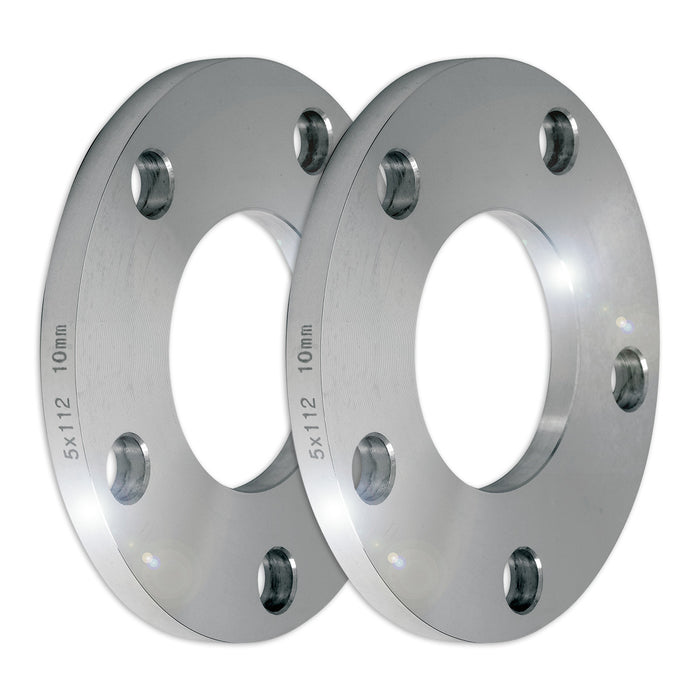 Set of Two (2) 10mm Press-On Wheel Spacers (5x112)