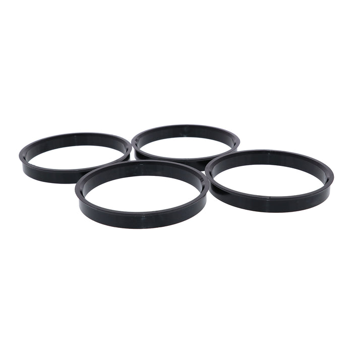Black Polycarbonate Hub Centric Rings 78mm to 71.5mm - 4 Pack