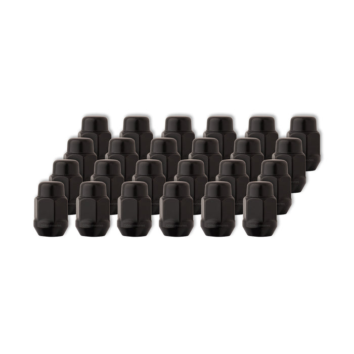 "7/16""-20 Bulge Acorn Wheel Lug Nut (13/16"" Hex - Conical Seat)"