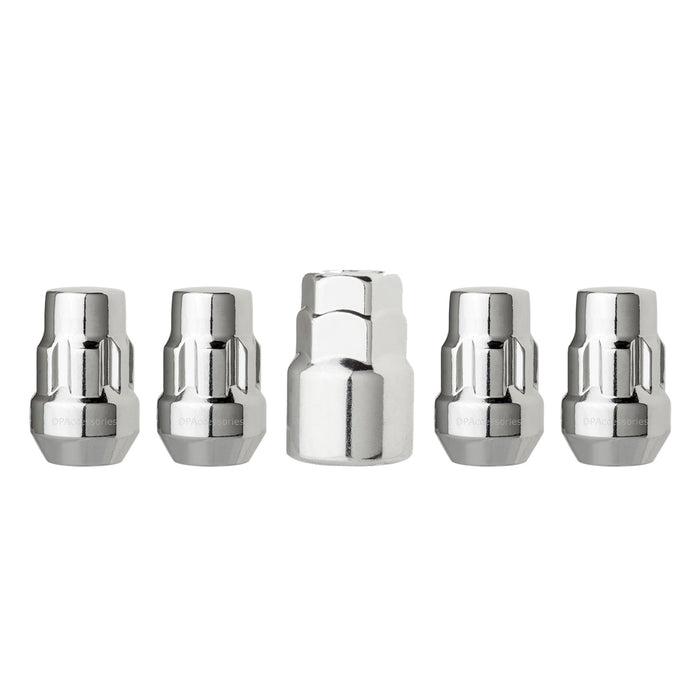 "1/2""-20 Bulge Acorn Locking Wheel Lug Nuts (3/4"" and 13/16"" Hex)"