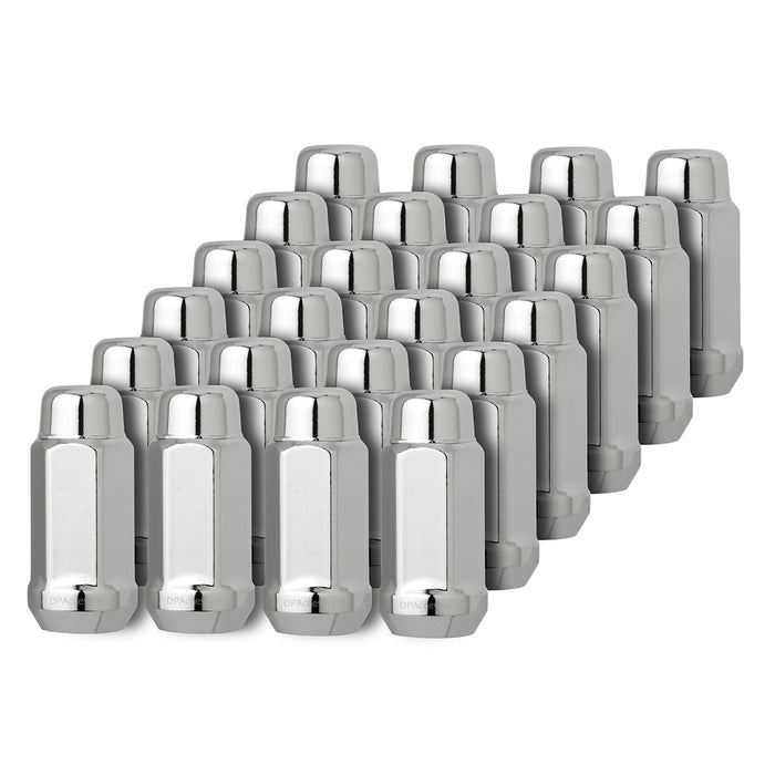 9/16-18 Closed End XL Bulge Acorn Lug Nut for Aftermarket Wheels