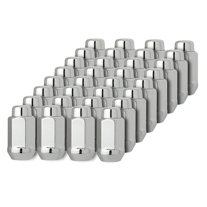 "M14x2.0 XL Bulge Acorn Wheel Lug Nut (7/8"" Hex - Conical Seat)"