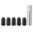 M12x1.5 Spline Tuner Locking Lug Nuts for Aftermarket Wheels