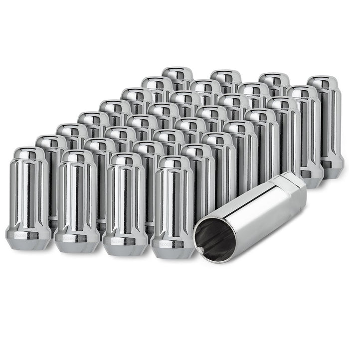 1/2-20 Spline Tuner Duplex XL Lug Nut for Aftermarket Wheels